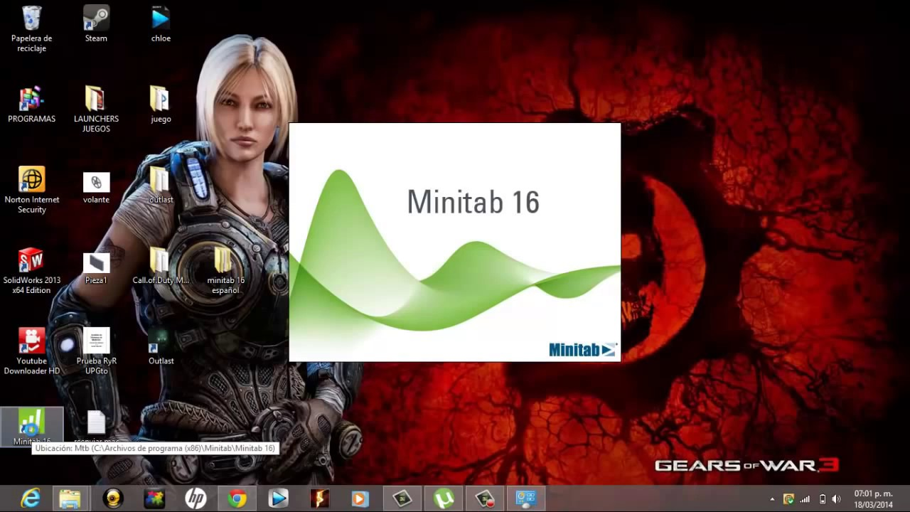 Minitab release16 tutorial.