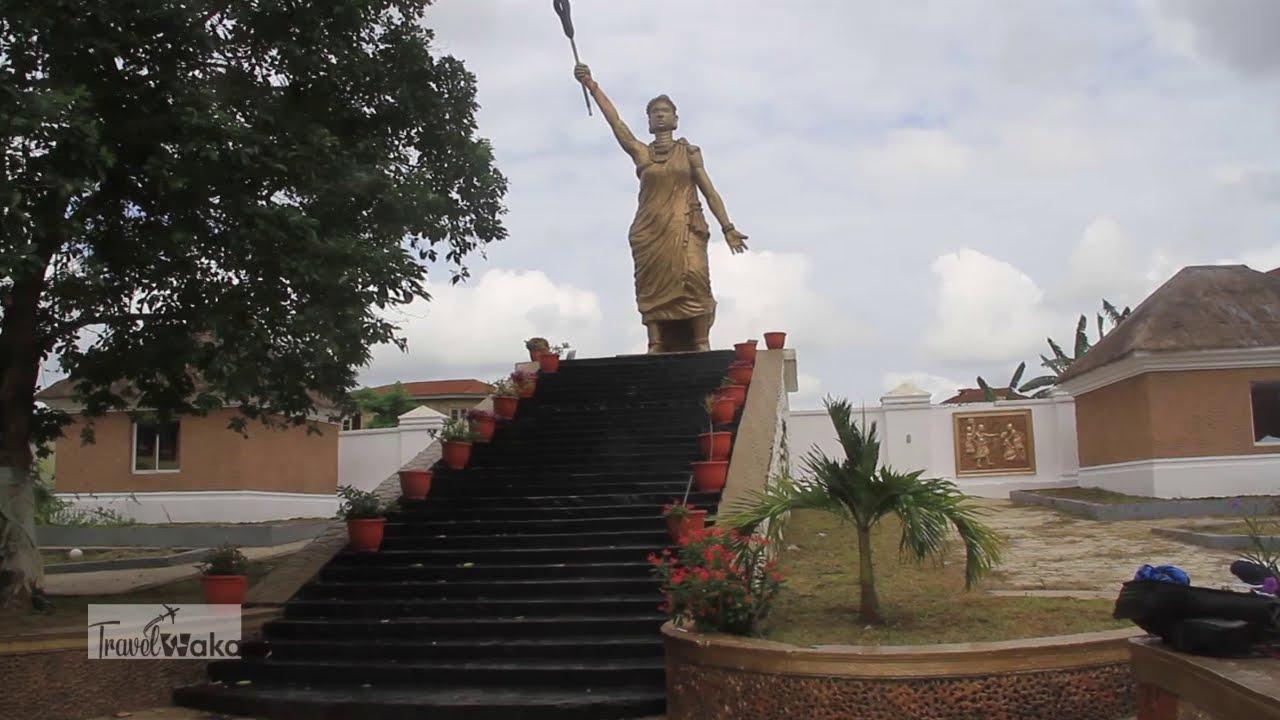 Download Queen Moremi Ajasoro Statue of Liberty in Ile Ife, Osun State