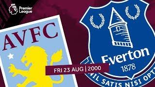 Aston Villa 2-0 Everton   Extended highlights