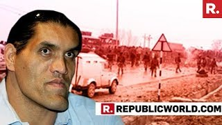 The Great Khali Speaks Exclusively To Republic TV On #BoycottPakistan