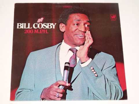 BILL COSBY- 200 MPH - Full 1968 vinyl album