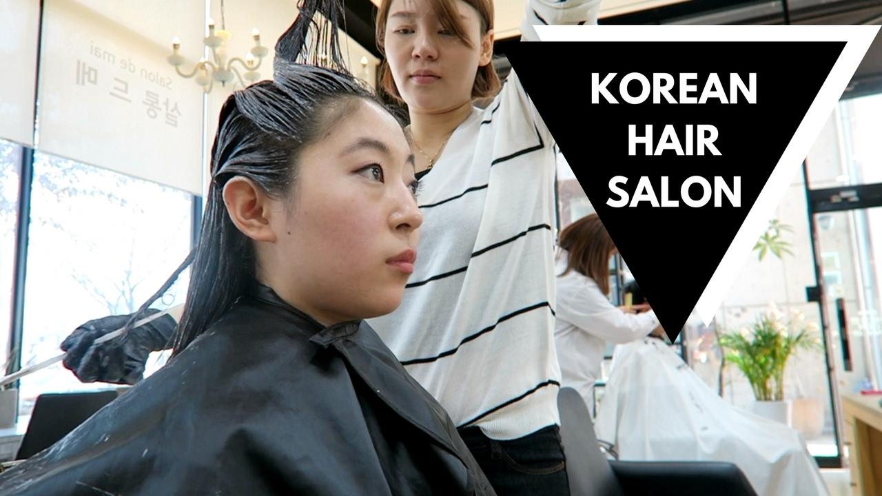 dyeing my hair for the time korean hair salon doovi
