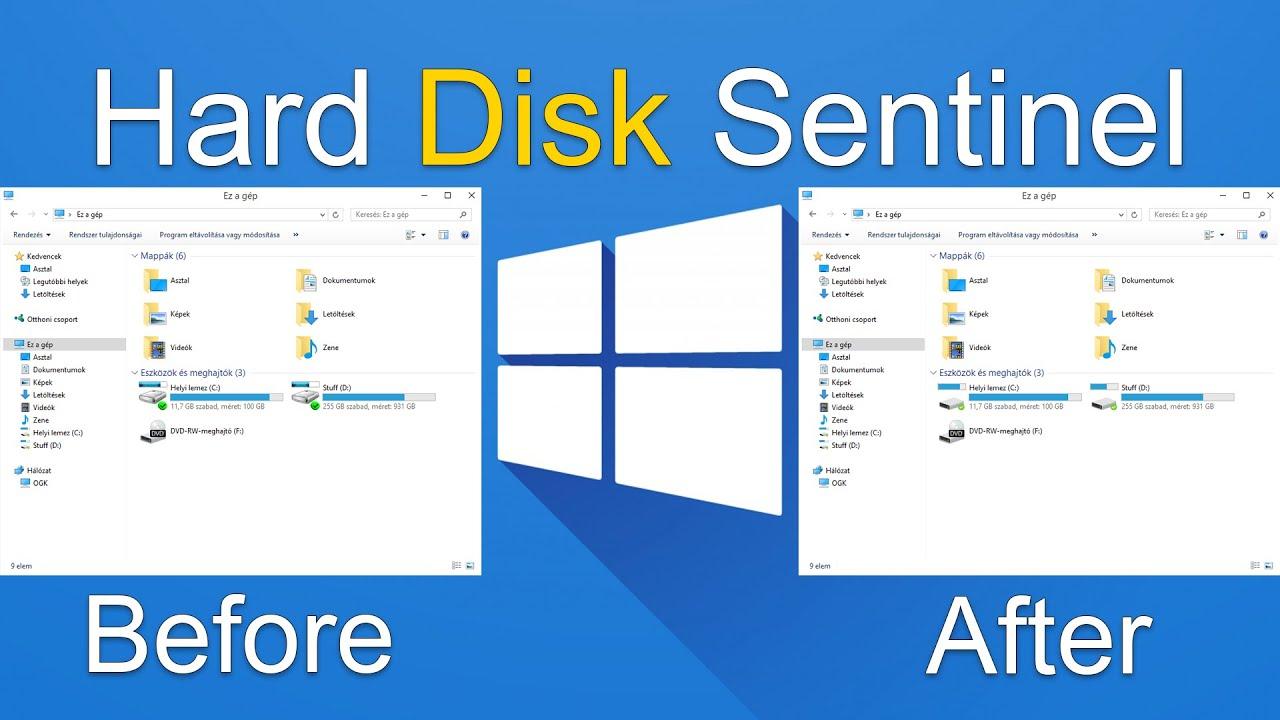 hard disk sentinel تحميل