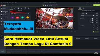 Video Cara membuat video lirik dengan Camtasia Studio 9 (Teks sesuai tempo lagu yang benar) download MP3, 3GP, MP4, WEBM, AVI, FLV Agustus 2018