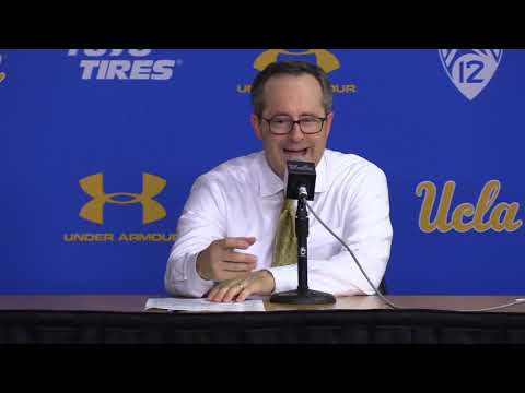 Murry Bartow Post Game Press Conference - Oregon vs. UCLA