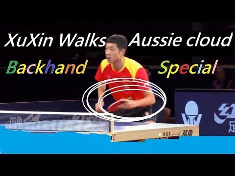 (TT Learn) Xuxin Revamped His Backhands (RPB & TPB) , Aussie 2018 Special Edit