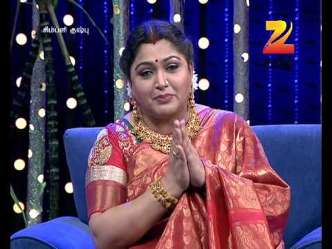 Simply Kushboo - Tamil Talk Show - Episode 21 - Zee Tamil TV Serial - Best Scene