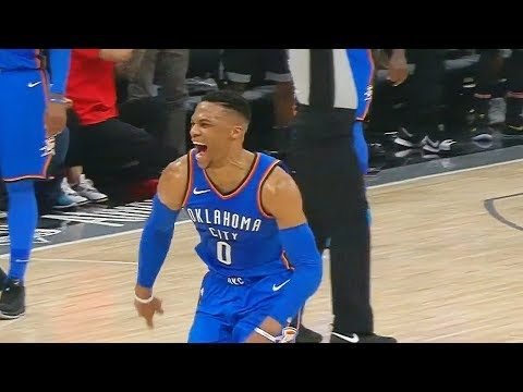 Russell Westbrook Game Winner vs Kings! OKC Thunder vs  Kings February 23, 2018
