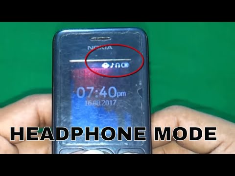 How To Remove Nokia 108 Headphone Mode