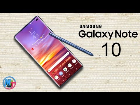 Samsung Galaxy Note 10 Will Two Models In 2019!!!