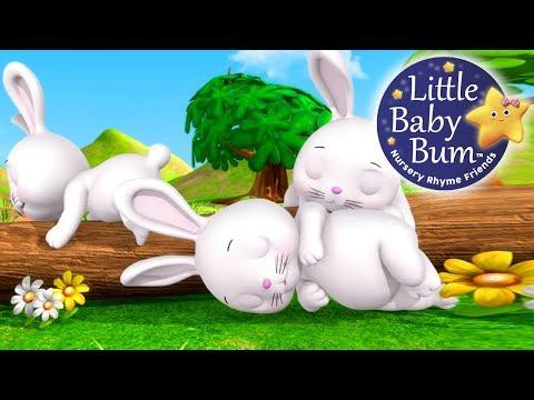 Sleeping Bunnies   Nursery Rhymes   By LittleBabyBum!