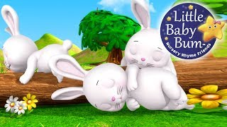 Sleeping Bunnies | Nursery Rhymes | By LittleBabyBum!