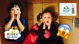 i mailed myself to ryan toysreview   gone wrong 4 year old mails herself to another youtuber