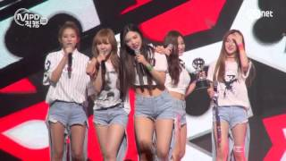 [MPD직캠] 레드벨벳 1위 앵콜 직캠 덤덤 DUMB DUMB Fancam No.1 Encore full ver. MNET MCOUNTDOWN 150917