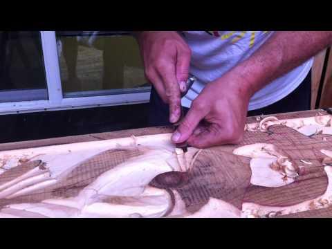 Steven Peterson Norwegian Carving