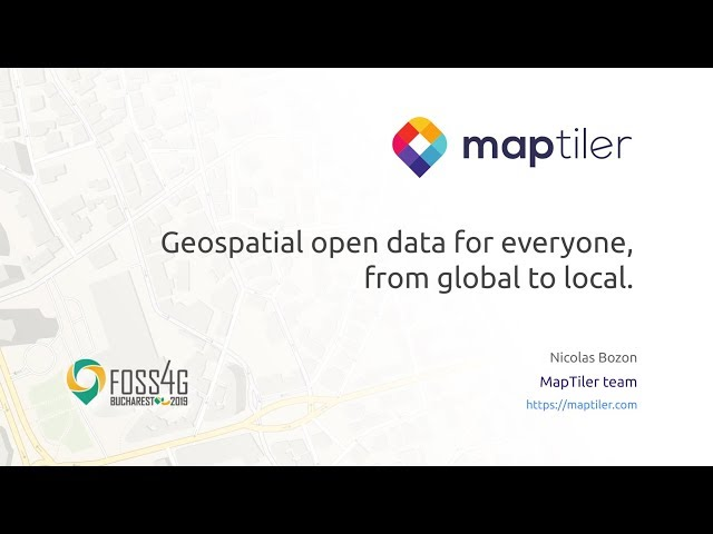 Our highlights from FOSS4G 2019 – MapTiler News
