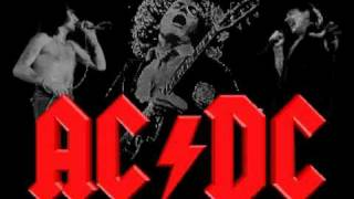 ACDC - back in black guitar backing track