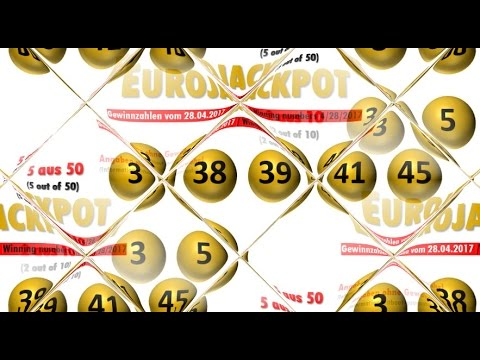 Eurojackpot Ziehung Gewinnzahlen