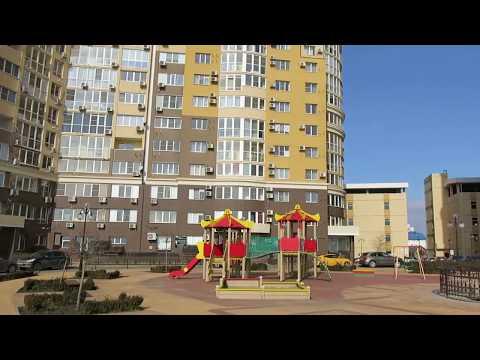 1-комнатная квартира с панорамным остеклением с видом на набережную реки Кубань