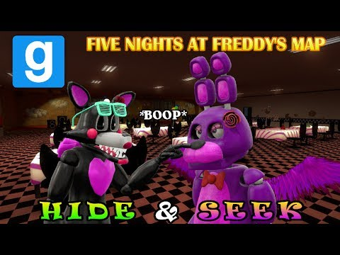 Thumbnail: ANIMATRONICS HIDE AWAY! || FNAF Gmod Map || Hide & Seek || Zany Gmod #10