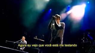 Linkin Park Pushing Me Away - Live In Milton Keynes - legendado