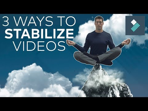3 EASY Ways To STABILIZE VIDEO!