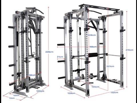 life trac folding power rack