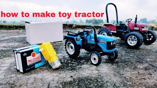 How To Make Rc Tractor Very Simple