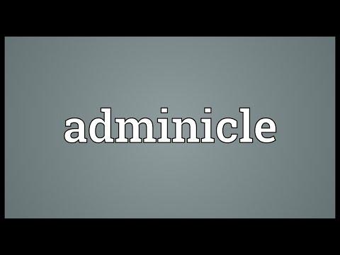 Header of adminicle