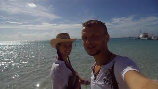 Прогулка по Бока-Чика (Boca Chica. Dominican Republic)(Прогулялись немного по улицам и пляжу курорта Доминиканы Бока-Чика и на обратном пути зашли в магазин за..., 2015-12-14T23:22:32.000Z)