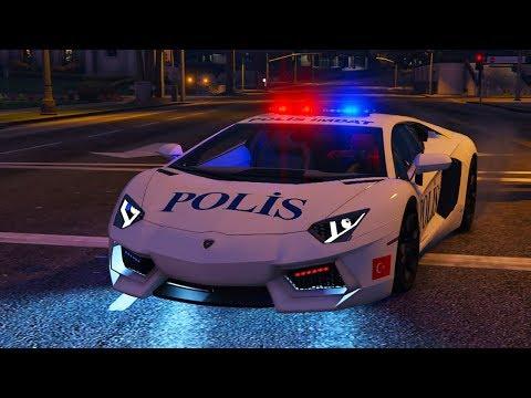 Süper Hızlı Türk Polis Arabalar Ile Trafik Kontrolü Yapıyoruz