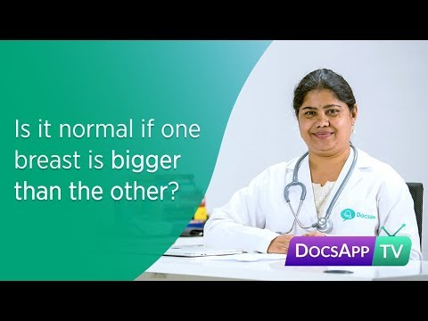 Is it normal if one Breast is Bigger than the other?Uneven Breast #AsktheDoctor