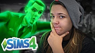 RESGATANDO O FANTASMA DO MEU EX-MARIDO! - The Sims 4