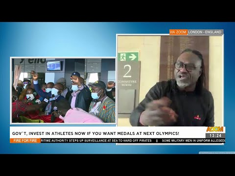 Gov't, invest in Athletes now if you want medals at next Olympics - Fire 4 Fire on Adom TV (11-8-21)