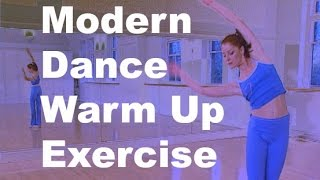 Dance warm up for beginners from Modern Dance Workout