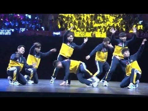 《超新星全运会2》【开幕式表演】技术流!街舞舞者来炸场,简直全程高能