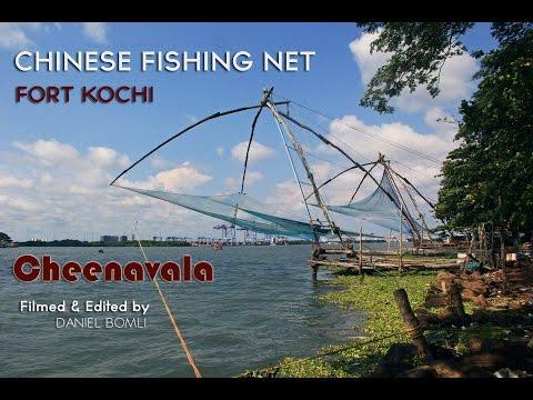 Cheenavala - Chinese Fishing Net in Fort Kochi