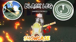 BLACK LEG SHOWCASE!! | Fruits mythiques en ligne (fr) Roblox