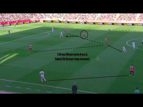 Tactical Analysis   Girona's Pressing vs. Real Madrid (10/29/17)