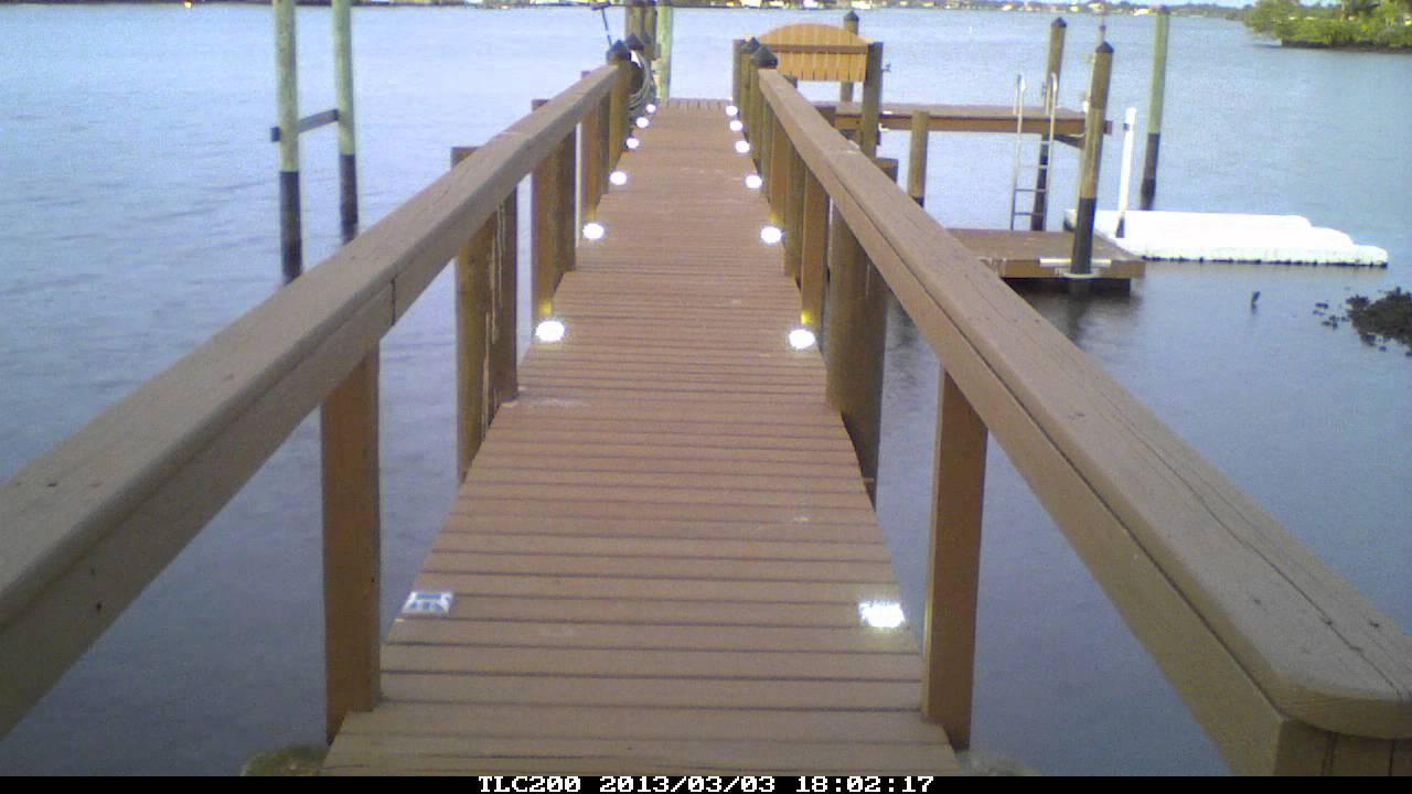 best solar powered dock lights