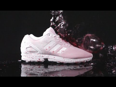 the best attitude 1e5ac 96de3 How to clean adidas Triple White ZX Flux vs RED WINE!! - Crep Protect Cure  - EXTREME TEST 3