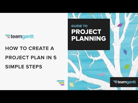 How to Create a Project Plan in 5 Easy Steps