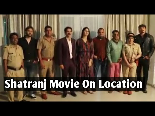 Shatranj movie On Location Hiten Tejwani, Shawar Ali, Ekta Jain, Kavita, Dushant