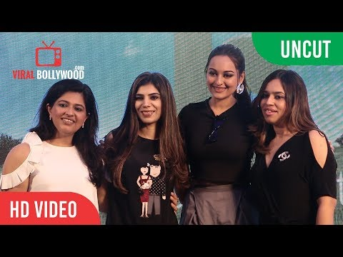 Sonakshi Sinha And Kanika Kapoor At India's Biggest Health Show In Mumbai | Future Of Wellness 2018