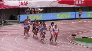 2017 日本選手権陸上 男子3000mSC 決勝