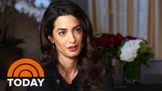 Amal Clooney Takes ISIS To Trial Over Human Trafficking, Genocide | TODAY