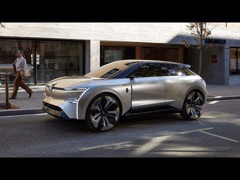 Renault сделала автомобиль с раздвижным кузовом.   Концепт трансформер Renault Morphoz.