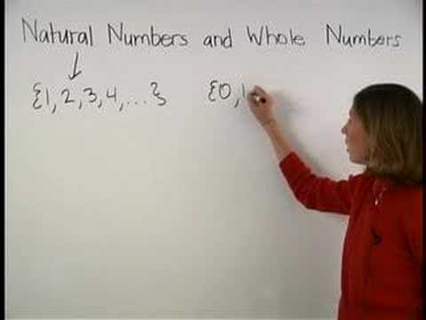Natural Numbers And Whole Numbers Mathhelp Youtube