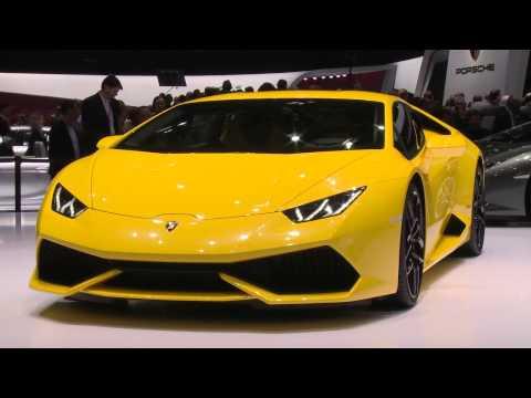Lamborghini Huracan live from Geneva