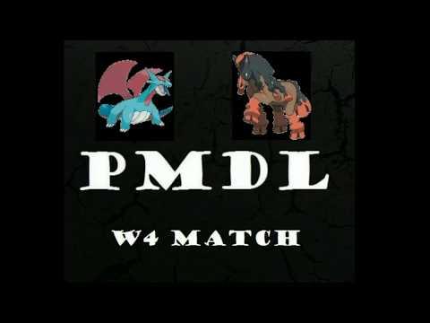 PMDL S1 Saskatoon Salamences vs Maine Mudsdales week 4 makeup! Pokemaniacs Draft League!